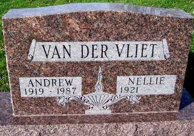 VANDERVLIET, ANDREW - Sioux County, Iowa   ANDREW VANDERVLIET