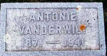 VANDERWILT, ANTONIE - Sioux County, Iowa | ANTONIE VANDERWILT