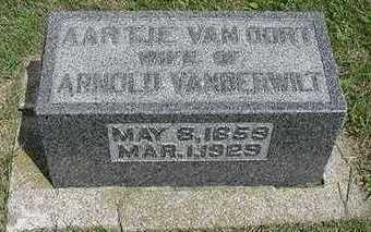 VANOORDT VANDERWILT, AARTJE - Sioux County, Iowa | AARTJE VANOORDT VANDERWILT
