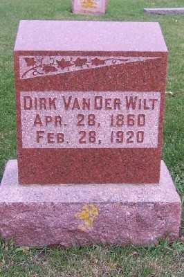 VANDERWILT, DIRK - Sioux County, Iowa | DIRK VANDERWILT