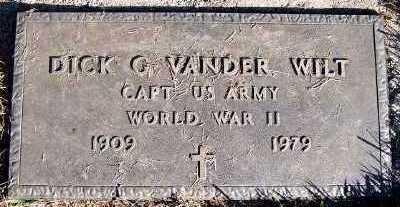 VANDERWILT, DICK G. (1909-1979) - Sioux County, Iowa | DICK G. (1909-1979) VANDERWILT