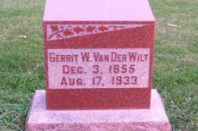 VANDERWILT, GERRIT W. - Sioux County, Iowa | GERRIT W. VANDERWILT