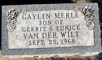 VANDERWILT, GAYLIN MERLE - Sioux County, Iowa | GAYLIN MERLE VANDERWILT