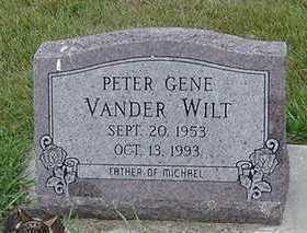 VANDERWILT, PETER GENE - Sioux County, Iowa | PETER GENE VANDERWILT