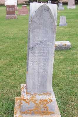 VANDERZWAAG, BARNJE (1842-1897) - Sioux County, Iowa   BARNJE (1842-1897) VANDERZWAAG