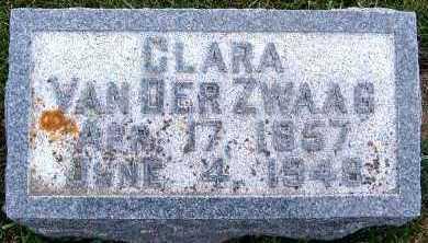 VANDERZWAAG, CLARA - Sioux County, Iowa | CLARA VANDERZWAAG