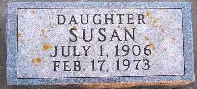 VANDERZWAAG, SUSAN - Sioux County, Iowa | SUSAN VANDERZWAAG