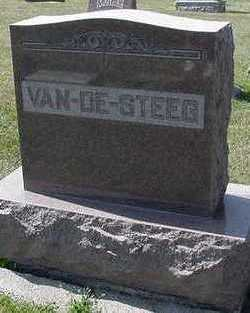 VANDESTEEG, HEADSTONE - Sioux County, Iowa | HEADSTONE VANDESTEEG