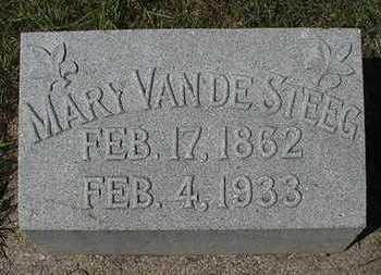 VANDESTEEG, MARY (MRS. JOHN) - Sioux County, Iowa | MARY (MRS. JOHN) VANDESTEEG