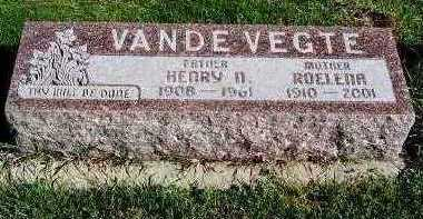 VANDEVEGTE, ROELENA - Sioux County, Iowa | ROELENA VANDEVEGTE
