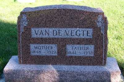 VANDEVEGTE, MOTHER - Sioux County, Iowa | MOTHER VANDEVEGTE