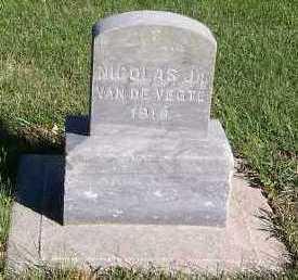 VANDEVEGTE, NICHOLAS JR. - Sioux County, Iowa | NICHOLAS JR. VANDEVEGTE