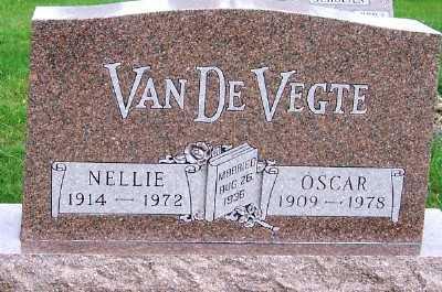 VANDEVEGTE, NELLIE - Sioux County, Iowa   NELLIE VANDEVEGTE