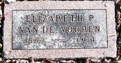VANDEVOOREN, ELIZABETH P. - Sioux County, Iowa | ELIZABETH P. VANDEVOOREN