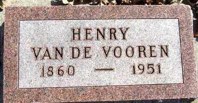 VANDEVOOREN, HENRY - Sioux County, Iowa | HENRY VANDEVOOREN