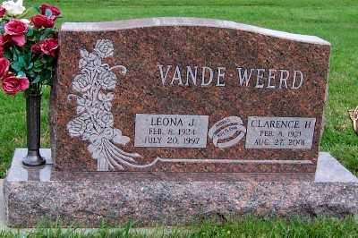 VANDEWEERD, CLARENCE H. - Sioux County, Iowa | CLARENCE H. VANDEWEERD