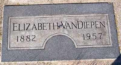 VANDIEPEN, ELIZABETH - Sioux County, Iowa | ELIZABETH VANDIEPEN