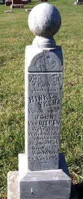 YKEMA VANDIEPEN, HINKE (MRS. JOHN) - Sioux County, Iowa | HINKE (MRS. JOHN) YKEMA VANDIEPEN