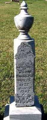VANDIEPEN, JOHN - Sioux County, Iowa   JOHN VANDIEPEN