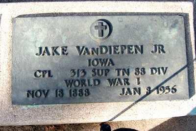 VANDIEPEN, JAKE JR. - Sioux County, Iowa | JAKE JR. VANDIEPEN