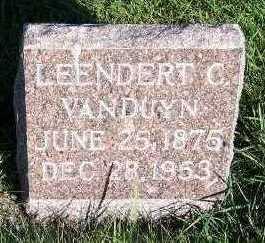 VANDUYN, LEENDERT C. - Sioux County, Iowa | LEENDERT C. VANDUYN