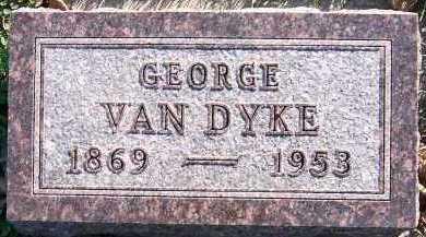 VANDYKE, GEORGE - Sioux County, Iowa   GEORGE VANDYKE