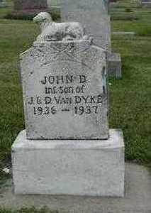 VANDYKE, JOHN D. - Sioux County, Iowa | JOHN D. VANDYKE