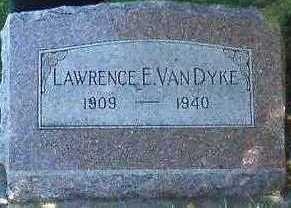 VANDYKE, LAWRENCE E. - Sioux County, Iowa | LAWRENCE E. VANDYKE
