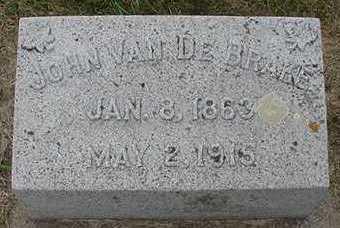 VANDEBRAKE, JOHN  D.1915 - Sioux County, Iowa | JOHN  D.1915 VANDEBRAKE
