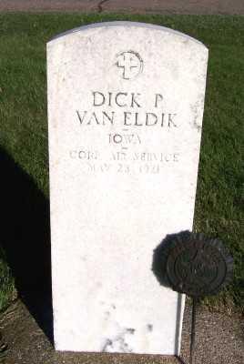 VANELDIK, DICK P. - Sioux County, Iowa | DICK P. VANELDIK