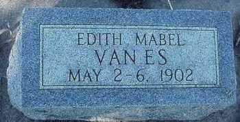 VANES, EDITH MABEL - Sioux County, Iowa   EDITH MABEL VANES
