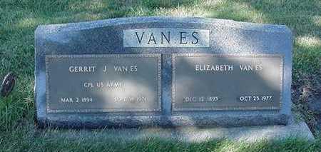 VANES, ELIZABETH (MRS. GERRIT J) - Sioux County, Iowa | ELIZABETH (MRS. GERRIT J) VANES