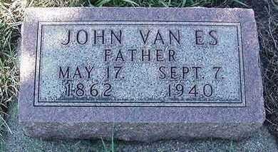 VANES, JOHN - Sioux County, Iowa | JOHN VANES