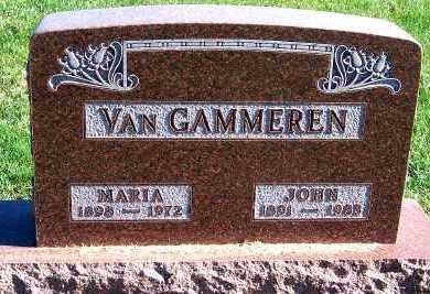 VANGAMMEREN, JOHN - Sioux County, Iowa   JOHN VANGAMMEREN