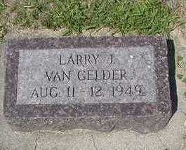 VANGELDER, LARRY J. - Sioux County, Iowa | LARRY J. VANGELDER