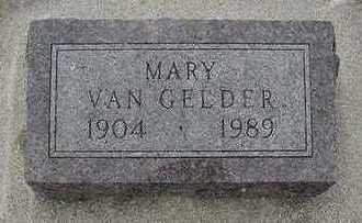 VANGELDER, MARY - Sioux County, Iowa | MARY VANGELDER