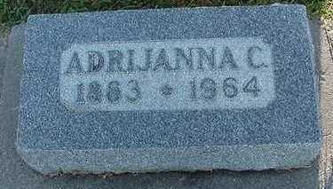 VANGREVENHOF, ARDIJANNA C. (MRS. ALBERT) - Sioux County, Iowa | ARDIJANNA C. (MRS. ALBERT) VANGREVENHOF
