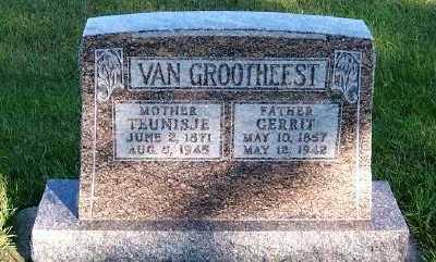 VANGROOTHEEST, TEUNISJE - Sioux County, Iowa | TEUNISJE VANGROOTHEEST