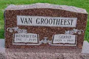 VANGROOTHEEST, GERRIT - Sioux County, Iowa | GERRIT VANGROOTHEEST