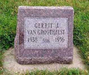 VANGROOTHEEST, GERRIT J. (1938-1956) - Sioux County, Iowa | GERRIT J. (1938-1956) VANGROOTHEEST