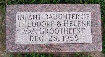 VANGROOTHEEST, INFANT DAUGHTER (1959) - Sioux County, Iowa   INFANT DAUGHTER (1959) VANGROOTHEEST