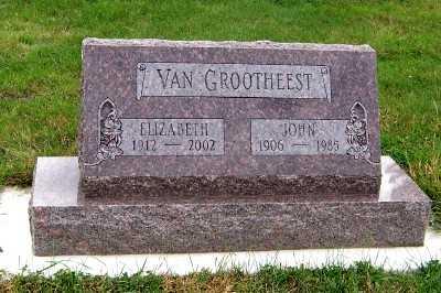 VANGROOTHEEST, ELIZABETH - Sioux County, Iowa | ELIZABETH VANGROOTHEEST