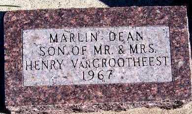 VANGROOTHEEST, MARLIN DEAN - Sioux County, Iowa | MARLIN DEAN VANGROOTHEEST
