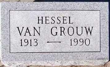 VANGROUW, HESSEL - Sioux County, Iowa | HESSEL VANGROUW