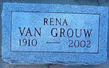 VANGROUW, RENA - Sioux County, Iowa | RENA VANGROUW