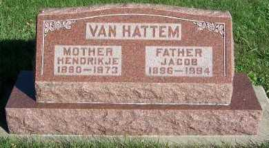 VANHATTEM, JACOB - Sioux County, Iowa | JACOB VANHATTEM