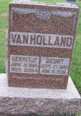 VANHOLLAND, GERRITJE - Sioux County, Iowa | GERRITJE VANHOLLAND