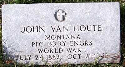 VANHOUTE, JOHN - Sioux County, Iowa | JOHN VANHOUTE