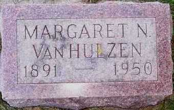 VANHULZEN, MARGARET N. - Sioux County, Iowa | MARGARET N. VANHULZEN