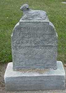 VANHUNNINK, HERMINA (BABY) - Sioux County, Iowa | HERMINA (BABY) VANHUNNINK